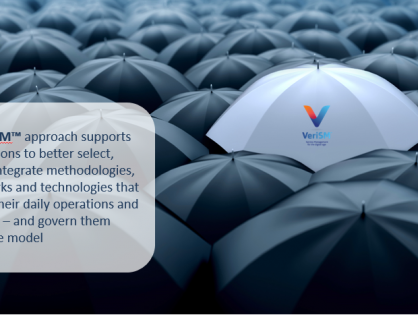 VeriSM™: the service management approach that helps organizations create a flexible operating model to deliver desired business outcomes aligned to the digital age